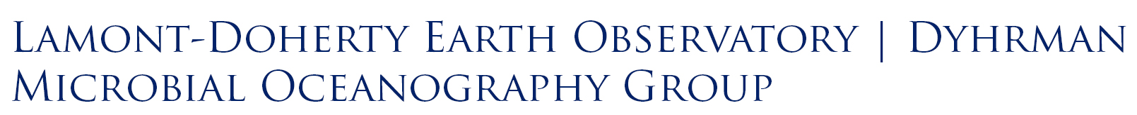 Lamont-Doherty Earth Observatory | Dyhrman Microbial Oceanography Group logo